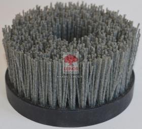 TAZ140TYM14P60 (3-102) Щетка чашечная D-140, ворс полимер абразив Р60